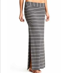 Athleta Serafina Striped Maxi Skirt